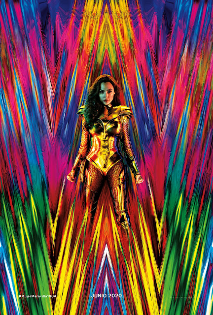 poster mujer maravilla 1984