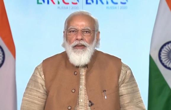 PM Narendra Modi raises the issue of terrorism in 12th BRICS Summit