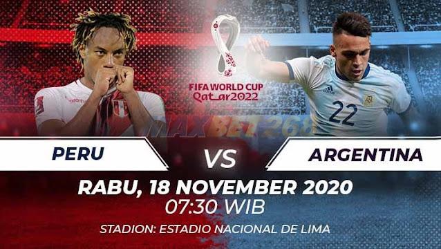 Prediksi Peru Vs Argentina, Rabu 18 November 2020 Pukul 07.30 WIB @ Mola TV