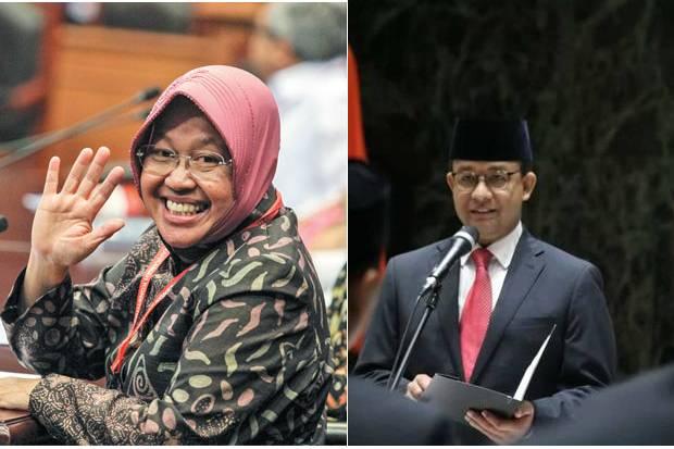 Risma Disebut Bakal Pimpin Ibu Kota Gusur Anies di Pilgub DKI Jakarta 2024