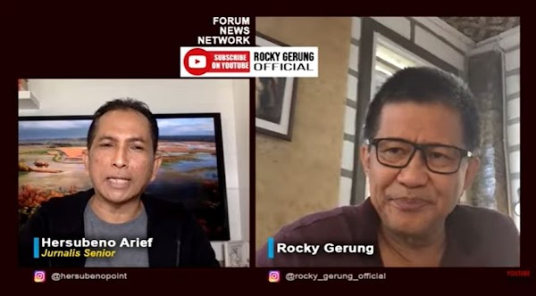 Kritik Investasi Miras, Rocky: yang Mabuk Pemerintah, yang Disalahin Rakyat