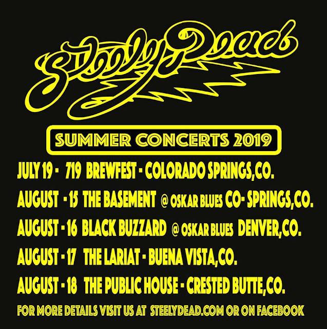 Steely Dead Summer 2019