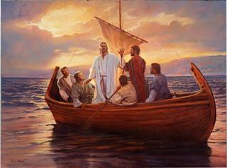 Resultado de imagem para pescadores e Jesus