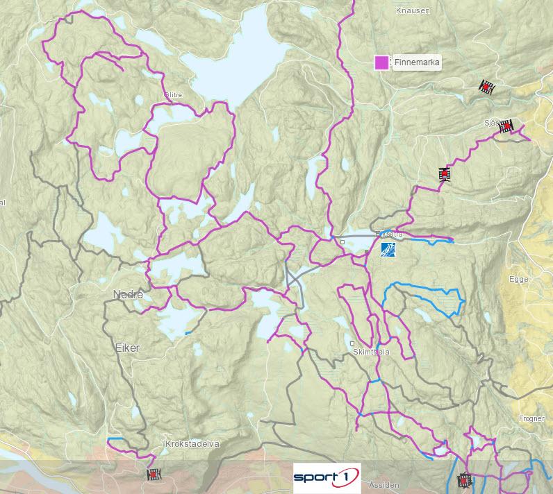 kart drammensmarka Skiføret i Drammensmarka: november 2016 kart drammensmarka