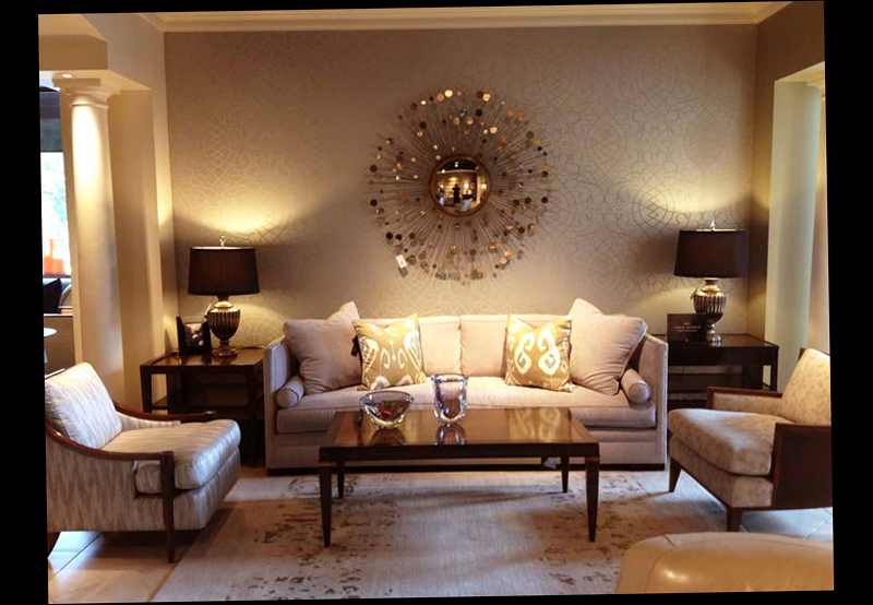Wall decoration ideas for living room ellecrafts for Living room decorating ideas images