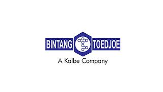 Lowongan Kerja PT. Bintang Toedjoe Indonesia Terbaru