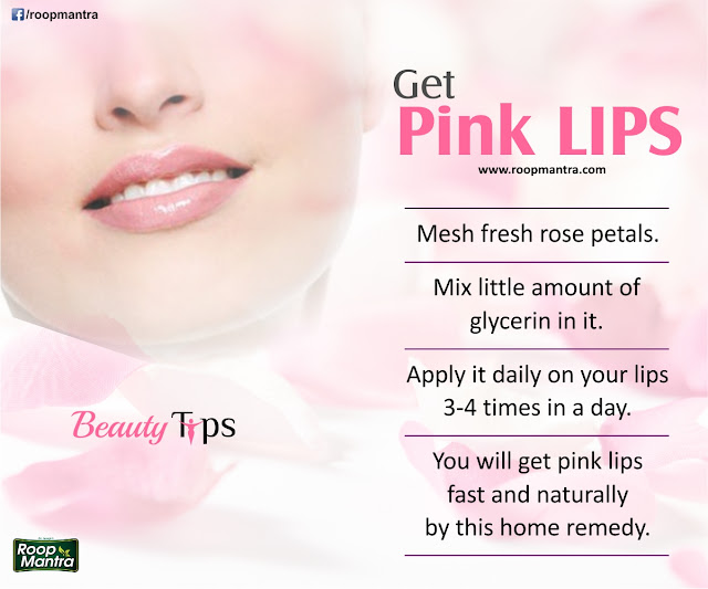 Get Pink Lips - Beauty Tips for Women