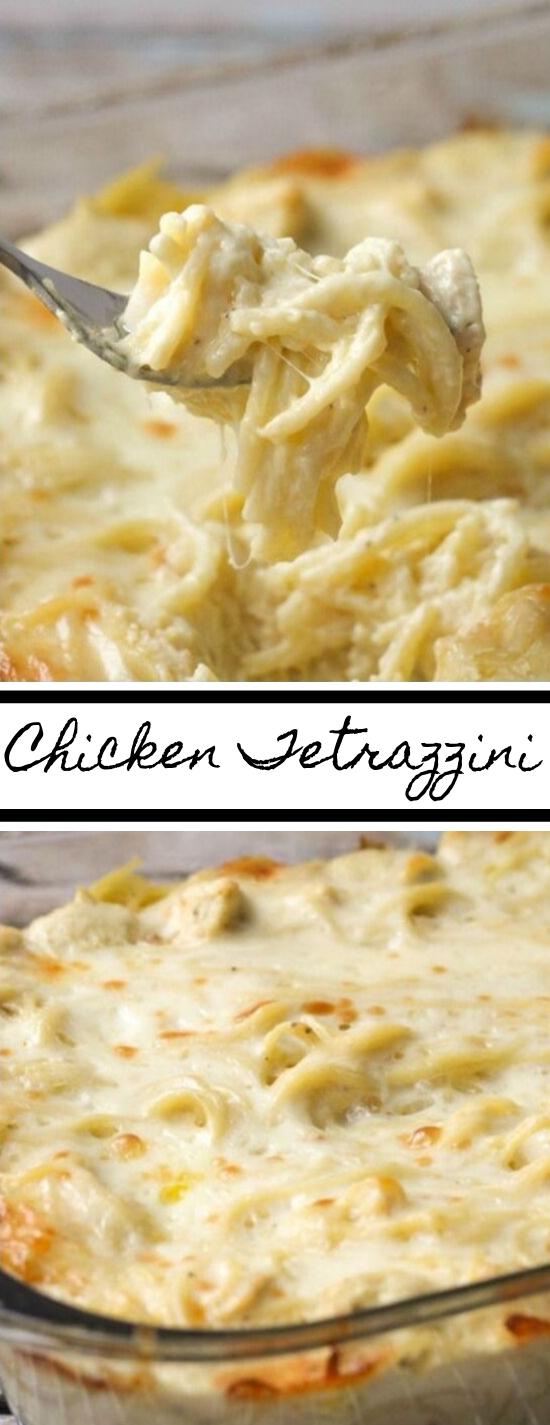 THE BEST CHICKEN TETRAZZINI #dinner #healthy #recipes #food #chicken