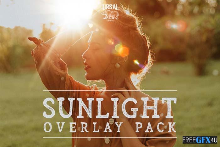Sunlight Flare Overlay Pack