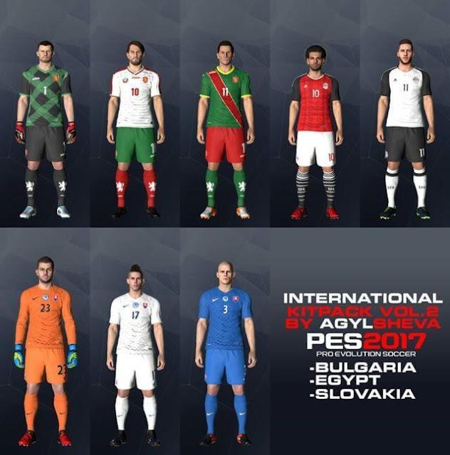 PES 2017 International Kitpack