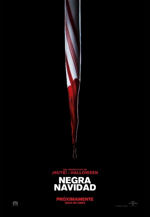 negra navidad afiche