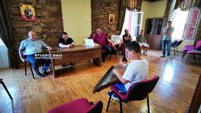 Προαγωγικές εξετάσεις μαθητών της Σχολής Βυζαντινής Μουσικής της Μητροπόλεως Αργολίδας (βίντεο)