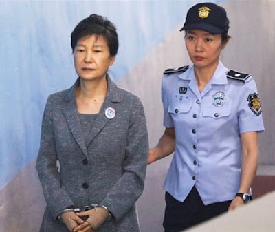 Ex-South Korean Female President Sentenced To 24 Years Imprisonment