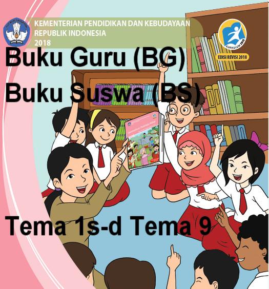 Buku Guru (BG) Buku Siswa (BS) Kelas 6 K-13 Revisi Terbaru