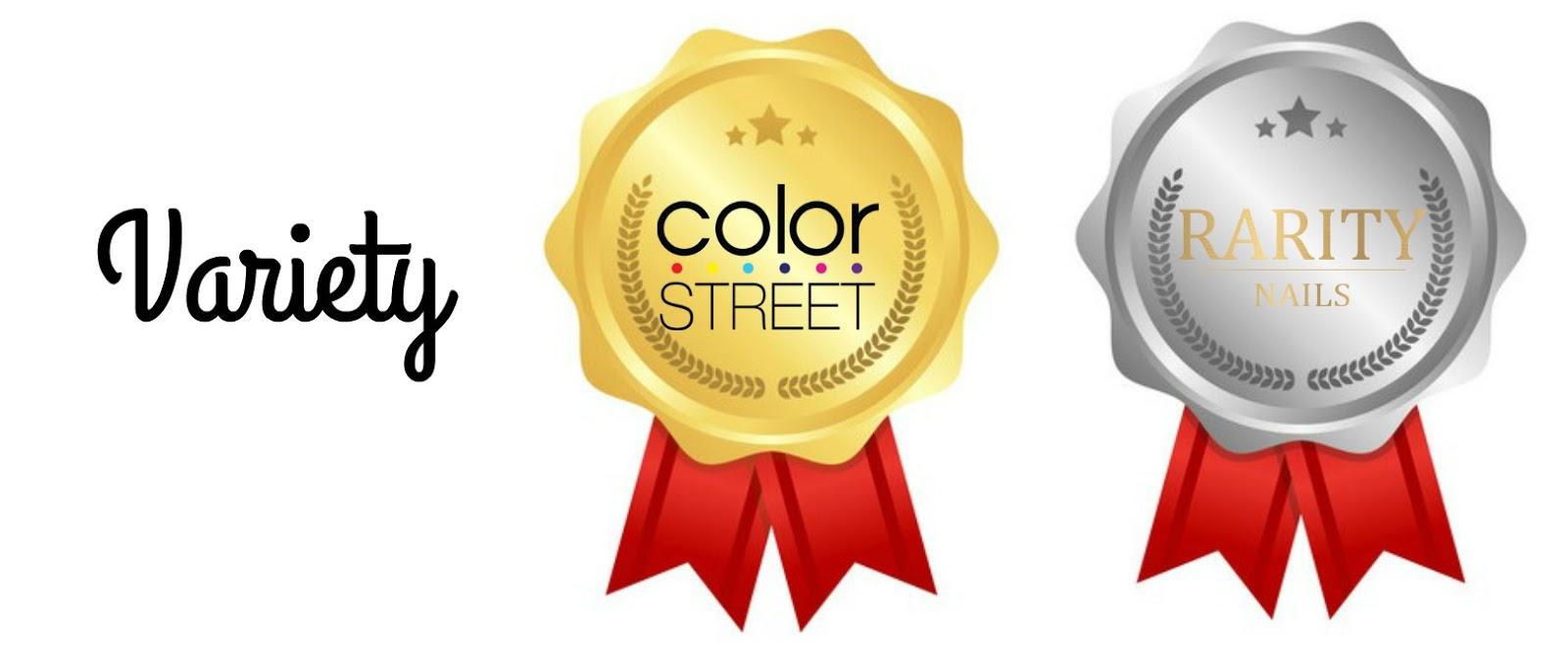 Beauty Blog By Angela Woodward Rarity Nails Vs Color Street