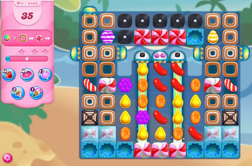 Candy Crush Saga level 9428