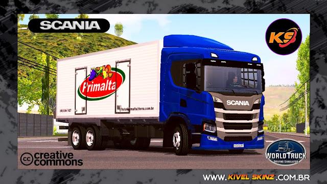 SCANIA P320 - PRIMALTA FRUTAS (ROMEU E JULIETA)