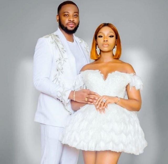 BBNaija's Bambam & Teddy A Release Stunning Photo Ahead Of White Wedding In Dubai