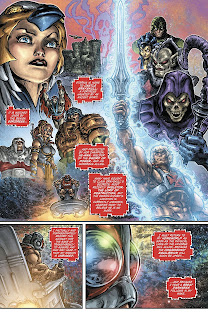 Reseña de Injustice vs. Masters del Universo de Tim Seeley y Freddie E. Williams II.