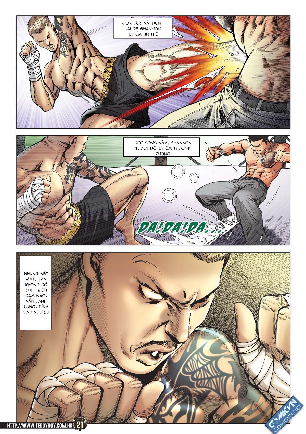 Người Trong Giang Hồ chapter 2143: ác chiến vua muay thai trang 19