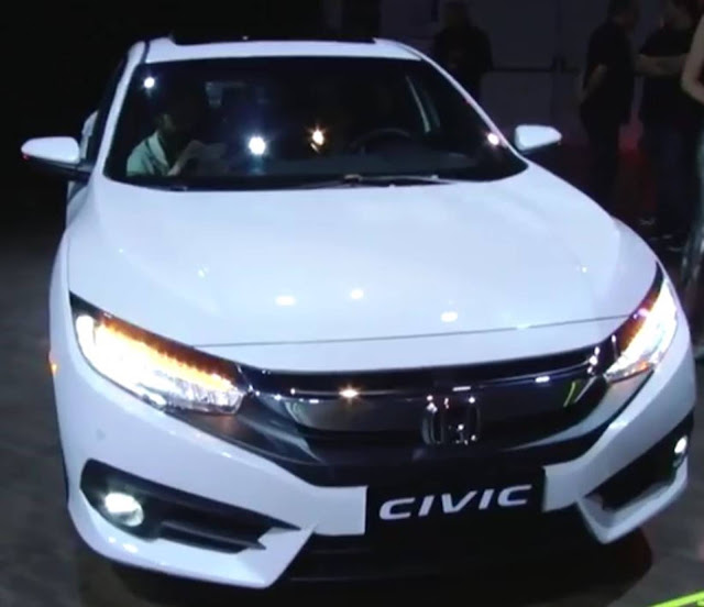 Novo Honda Civic 2017 - Touring
