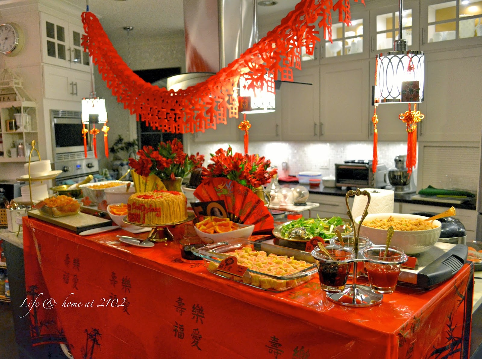 Life Amp Home At A Chinese Birthday Party