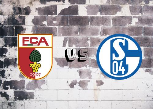 Augsburg vs Schalke 04  Resumen