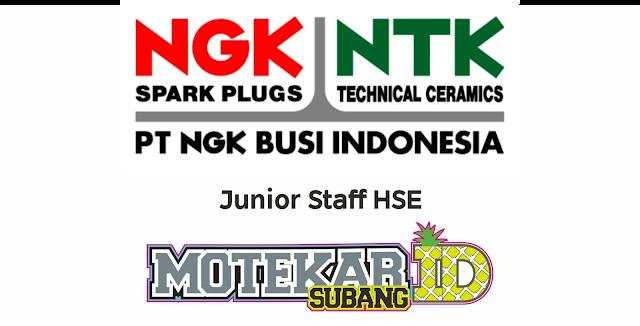 Info Lowongan Kerja PT NGK Busi Indonesia
