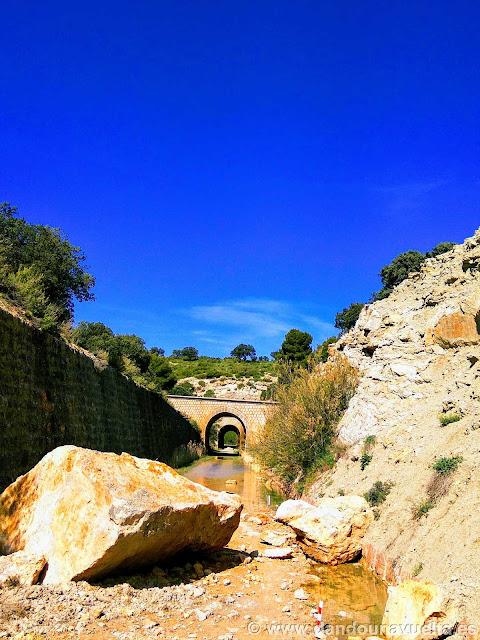 Desprendimientos e inundaciones en Vía Verde Sierra de Alcaraz