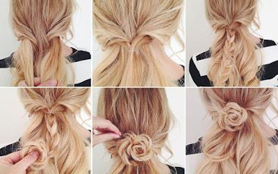16 penteados rápidos e fáceis para fazer]