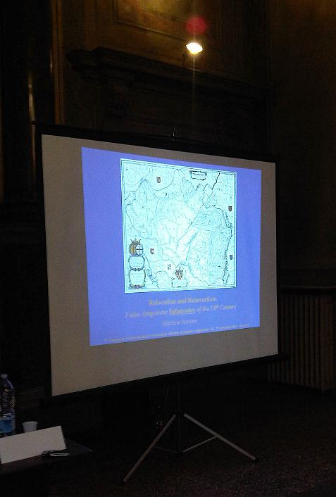 Lecture at the AIG Colloquium, Bologna | Spanish Genealogy