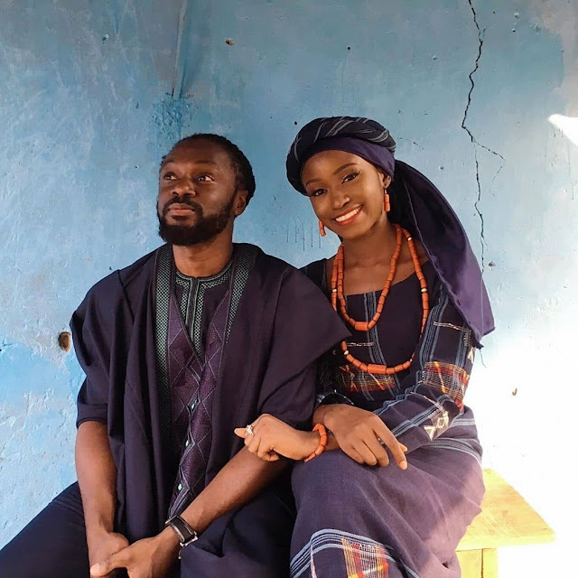 Lady Marries Her Ex-Corper Teacher Who Taught Her Geography In SS2 (Photos)