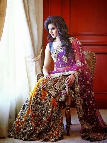 Samantha Lehenga Photo Shoot Saree Blouse Patterns