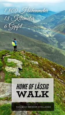 Home of Lässig Walk | Die Saalbach Wander-Challenge