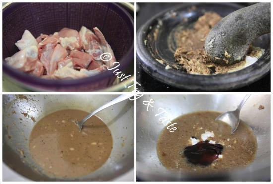 Resep Ayam Goreng Terasi  JTT