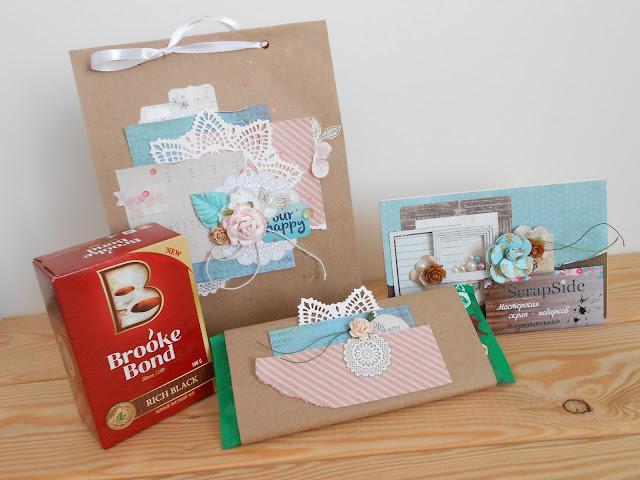 открытка, упаковка, подарок, шоколад, чай, коробочка