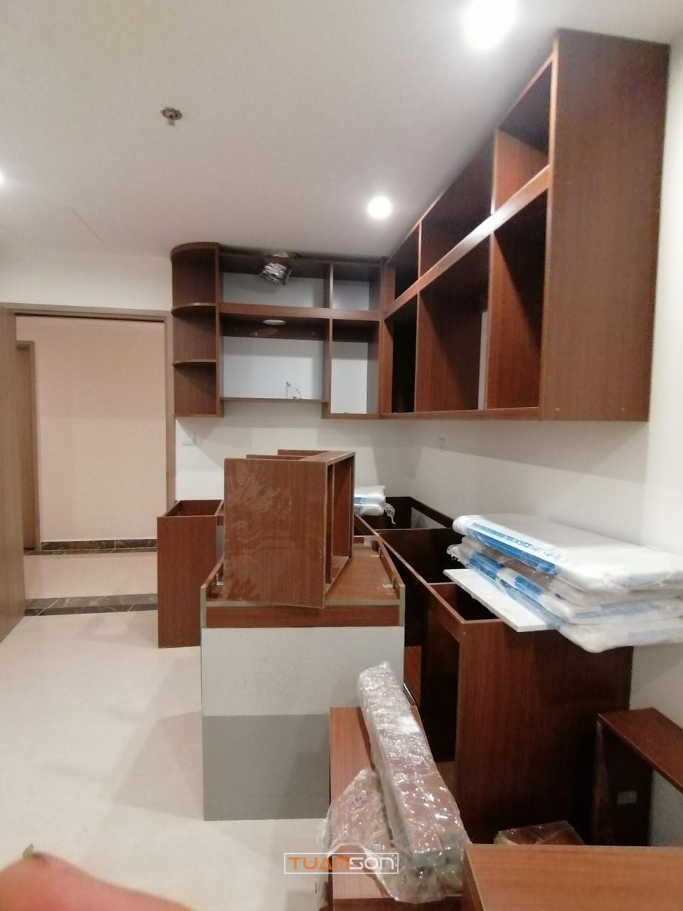 Chuẩn bị hạng mục thi công nội thất căn S2.11-15A Vinhomes Ocean Park