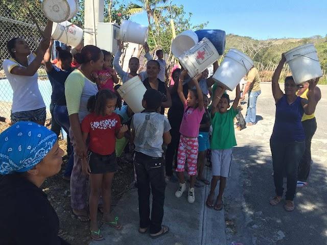 Bohechío: Tierra presidente Medina, se lanzan calles gritan auxilio por agua-VIDEO