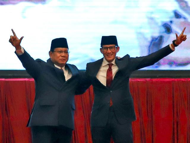 Siap Rebut Basis Jokowi, Prabowo-Sandi Seriusi Jawa
