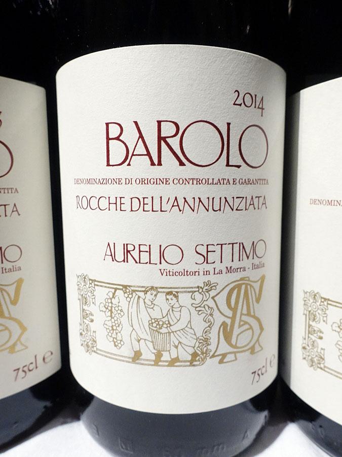 Aurelio Settimo Rocche Dell'Annunziata Barolo 2014 (92 pts)