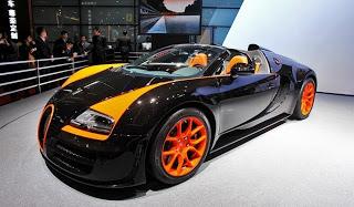 gambar Bugatti Veyron Grand Sport Vitesse World Record car