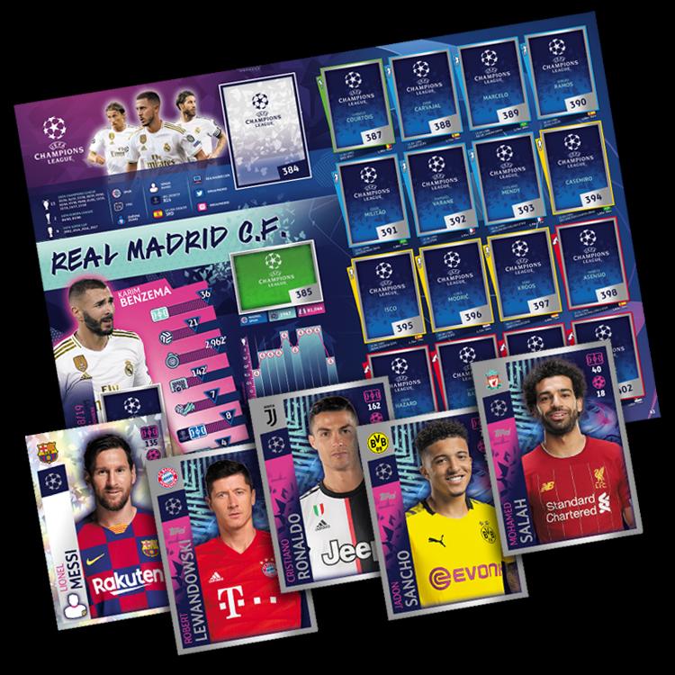 Champions League 19 20 2019 2020 Sticker 372 Germain Abdou Diallo Paris St