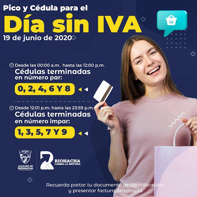 Riohacha: Pico y cédula para Día sin IVA