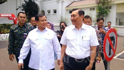 Luhut : Prabowo Ngaku Betah Kerja Jadi Menteri Jokowi