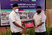 Menteri Agama Gus Yaqut Apresiasi Gerakan 5 Juta Masker di Manado