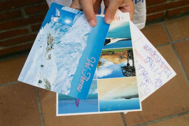 Ideas para practicar lectoescritura niños: enviar postales