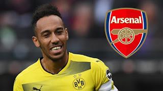 Arsenal Segera Dapatkan Aubameyang