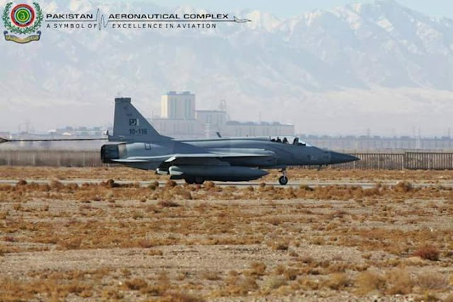 JF-17 A SYMBOL OF EXCELLANCE OF PAKISTANI ENGINEERS & TECHNICIANS A PRODUCT OF AERONAUTICAL COMPLEX OF PAKISTAN
