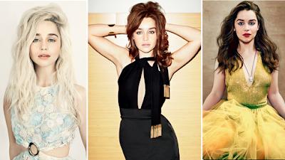 Emilia Clarke posa muy sensual en una sesión para Violet Grey