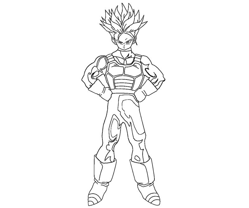 piccolo coloring pages random auto electrical wiring diagramfuture trunks 8 coloring
